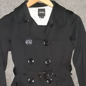 XOXO S peacoat black big buttons
